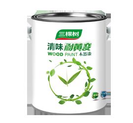 Odorless Anti-Yellowing Wood Paint