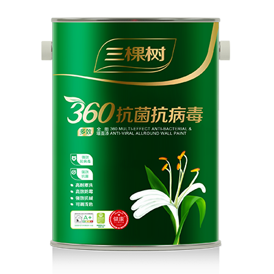 360 Multi-Effect Anti-Bacterial & Anti-Viral Allround Wall Paint